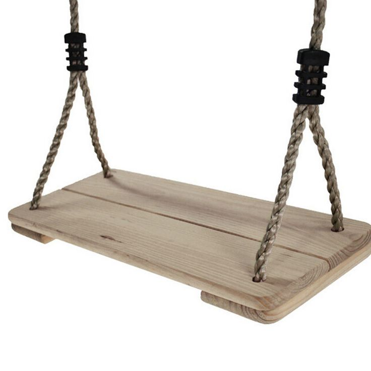 New Kids Adults Wooden Swings Indoor Outdoor Garden