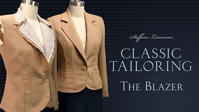 Modern styling meets Old-World tailoring techniques as you sew an heirloom-quality blazer with high-end details in this online class! - via @Craftsy