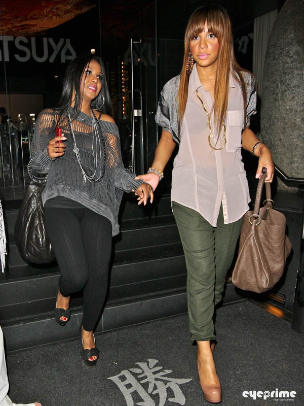 Toni Braxton And Tamar Braxton 2014