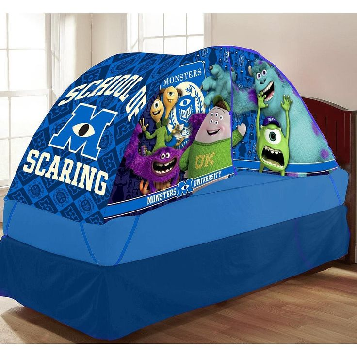 Lovely Monsters University Bed Tent With Push Light