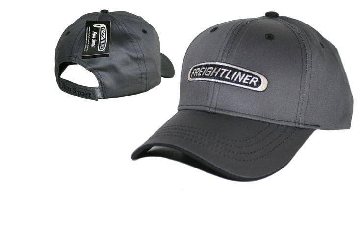 Freightliner Merchandise - Freightliner Run Smart Gray & Black Cap…