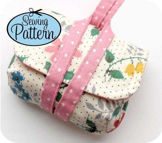 Sewing Pattern to Make a Camera Case Wristlet - PDF (Email Delivery)