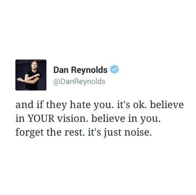 Dan Reynolds Tweet
