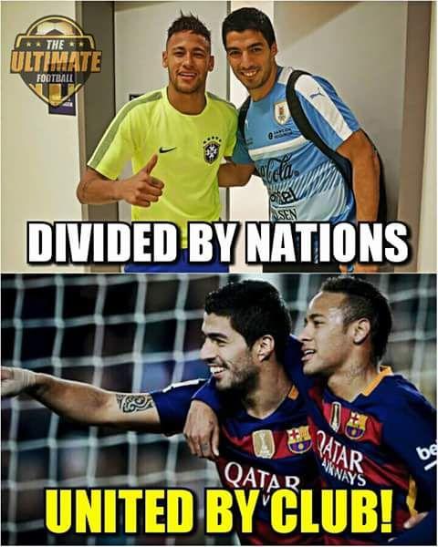 Neymar and Suarez!