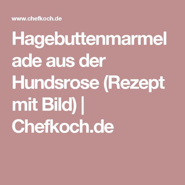 Hagebuttenmarmelade aus der Hundsrose (Rezept mit Bild)   Chefkoch.de