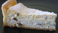 Cheesecake φούρνου με ζύμη σαμπλέ