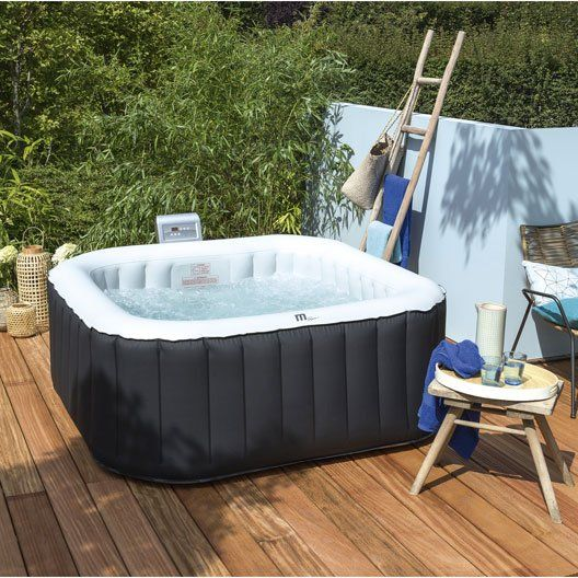 25 best ideas about spa gonflable on pinterest piscine gonflable jacuzzi - Jacuzzi gonflable carre ...