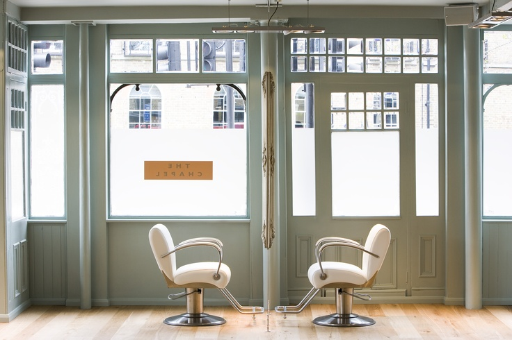Our Cutting floor in our London Hair Salon. Twice named Best London Salon, our Guests love the bright and airy cutting space.