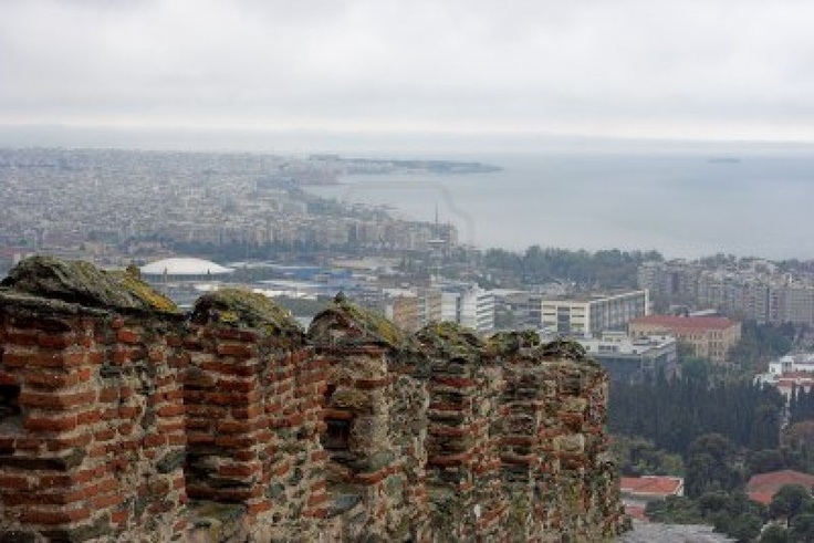 Panoramic Image Of The City Of Thessaloniki Royalty Free Stock Photo, Pictures, Images And Stock Photography. Image 2834092.