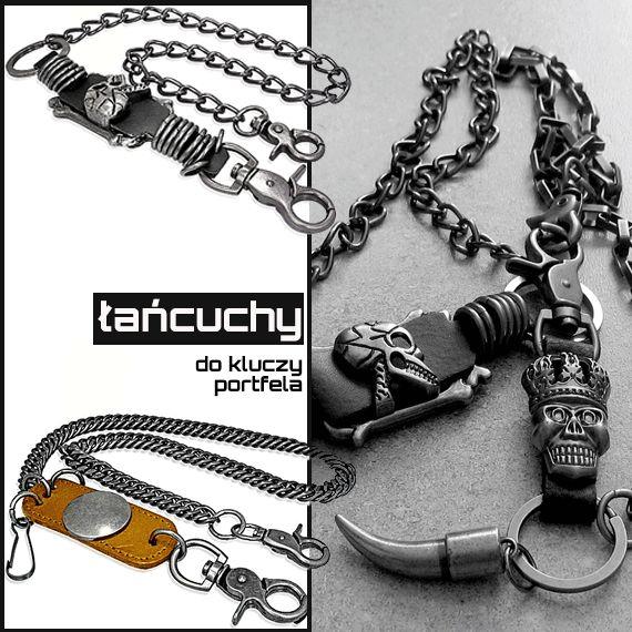 Łańcuchy do spodni, kluczy, portfela, smartfona. Już są dostępne w sklepie online: http://zubiro.com/lancuchy_do_spodni,87,0.html Cena: 65 zł