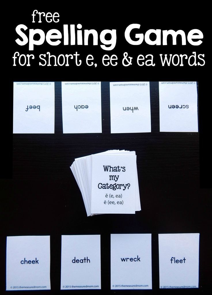 5 Best Strategies for Learning Weekly Spelling Words ...