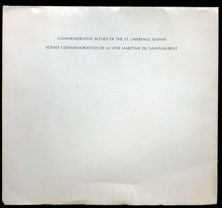 Commemorative Scenes Of The St. Lawrence Seaway by Hans Van Der AA 10 Prints