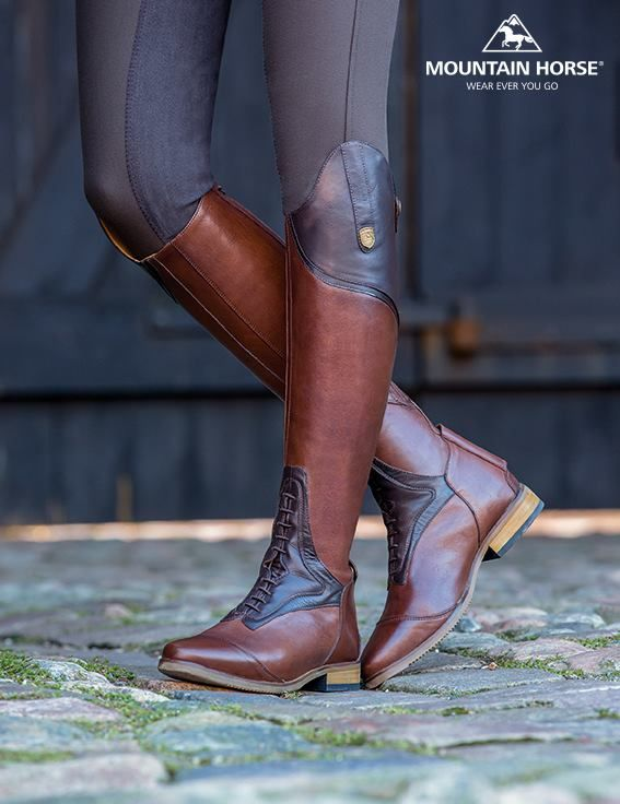 Traditional and timeless, the Sovereign Field Boot offers a more comfortable heels-down position with the unique Mountain Horse® Flexnotch™ Technology. Material: Full grain leather. Lining: Smooth full grain leather.
