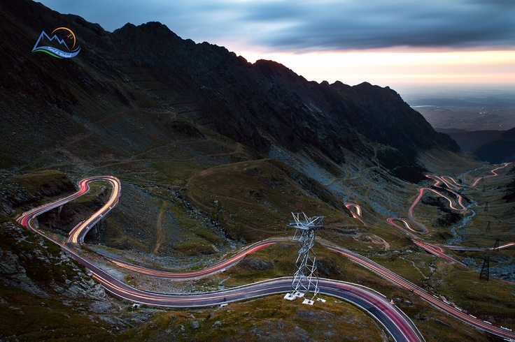 Playful Lights on Transfagarasan