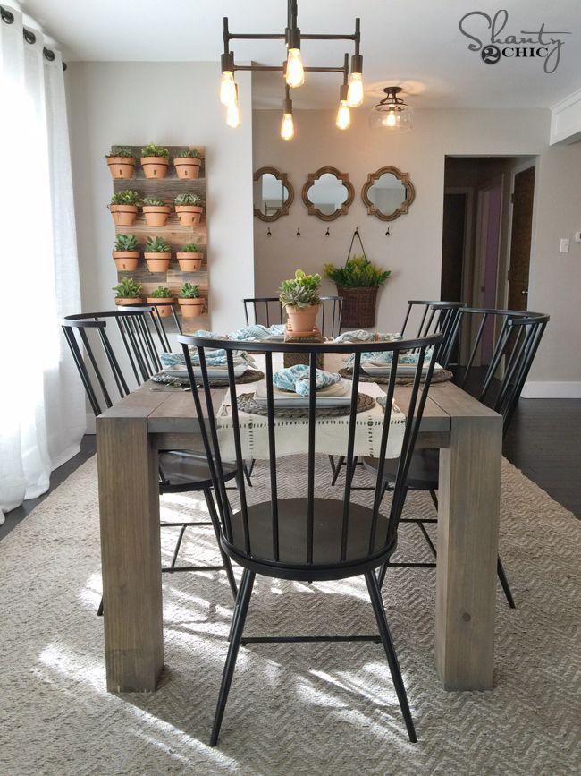 25 Best Ideas About Modern Farmhouse Table On Pinterest Modern Farmhouse D