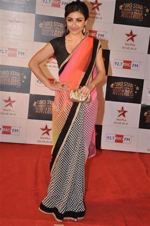 Soha Ali Khan Bollywood Replica Saree