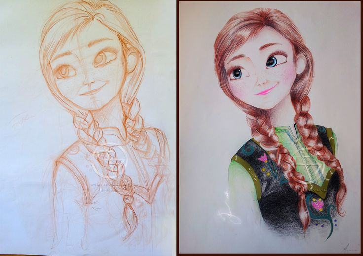 Making of Anna( Frozen- Disney production2014 )