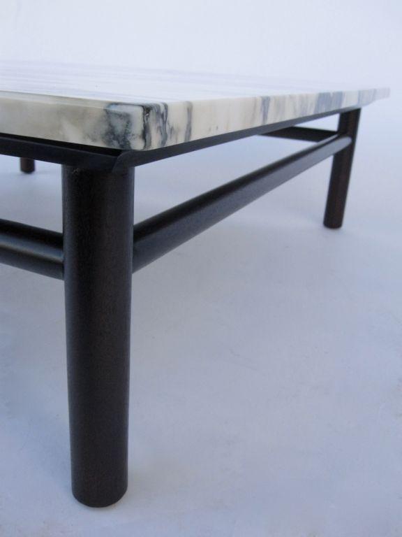 Robsjohn Gibbings Marble Top Coffee Table