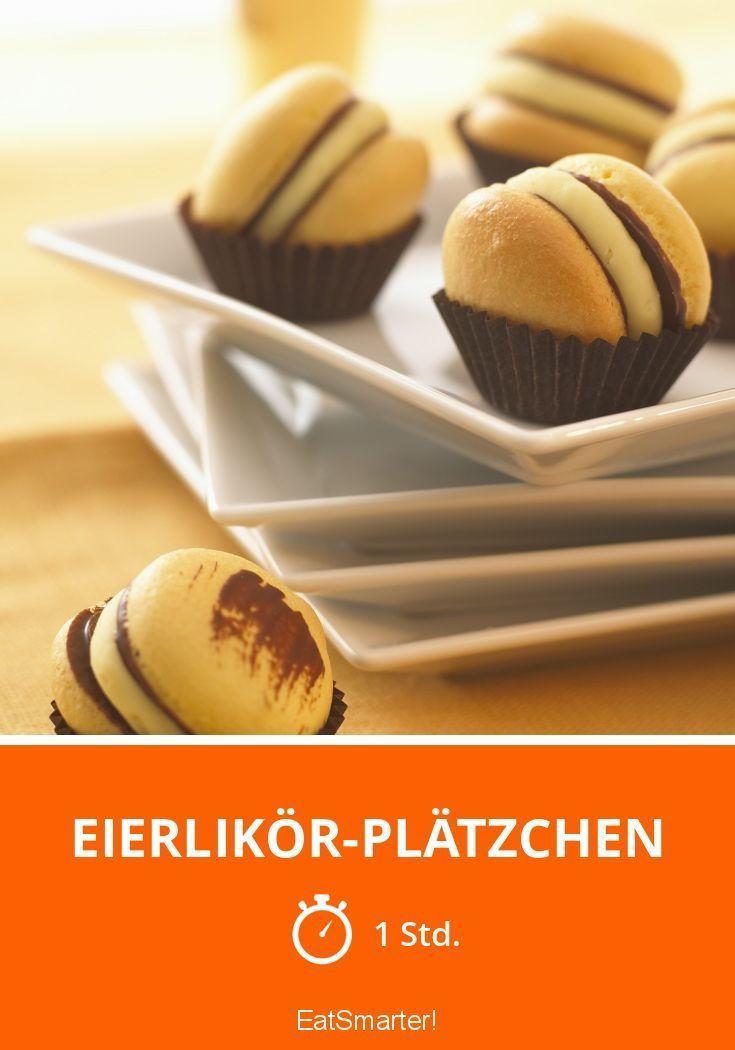 Eierlikör-Plätzchen - smarter - Zeit: 1 Std. | eatsmarter.de