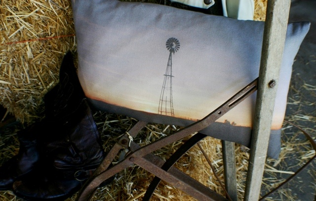 'Karoo' cushion - colour. Available in 35 x 60cm and 40 x 80cm.
