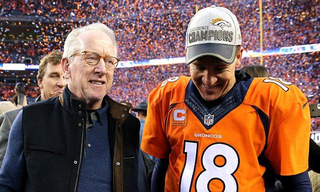 Peyton Manning 'could retire after Denver Broncos Super Bowl win' says his dad | Daily Mail Online