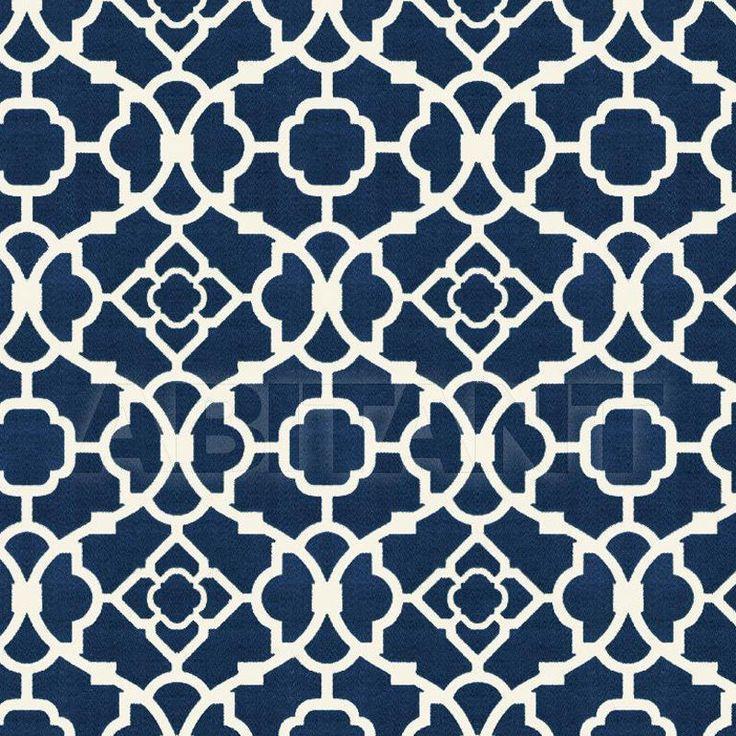 Интерьерная ткань темно-синие Kravet HAVOCK 516 , каталог текстиля: фото, заказ на ABITANT , Москва