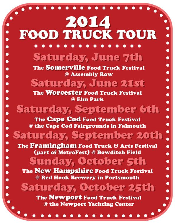 New England Food Truck Festival 2014