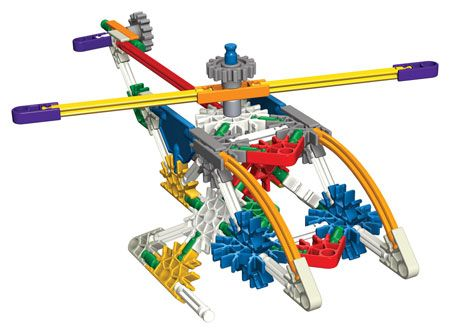 With over 500 pieces, the only limit is your imagination! KNEX Super Value Tub, 521 pc by K'NEX, via Fat Brain - $24.95