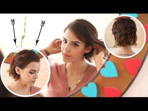 peinados fciles para cabello corto peinados para bonitos para verano anipills youtube