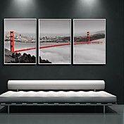 The Bridge In The Fog Decoration Art  Framed ... – USD $ 84.99