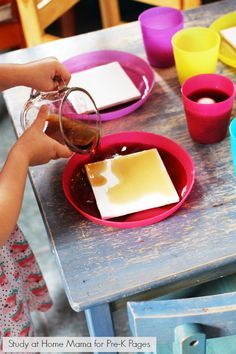 Dental Health Science Experiment - Pre-K Pages