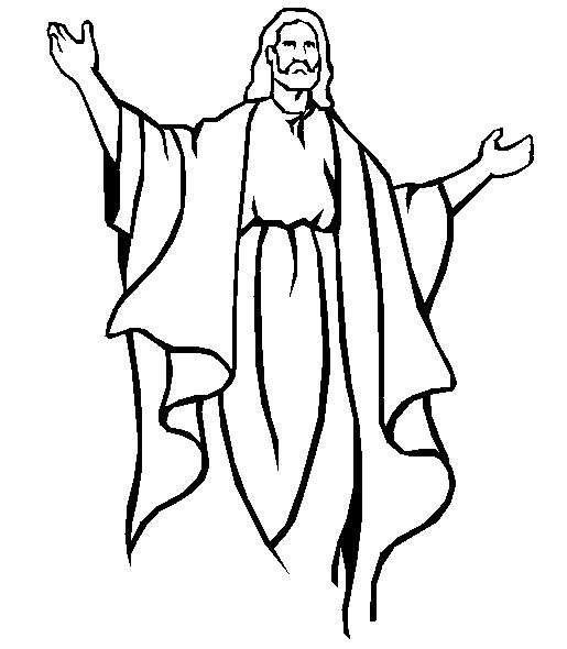 Millenium coloring page - Jesus the king