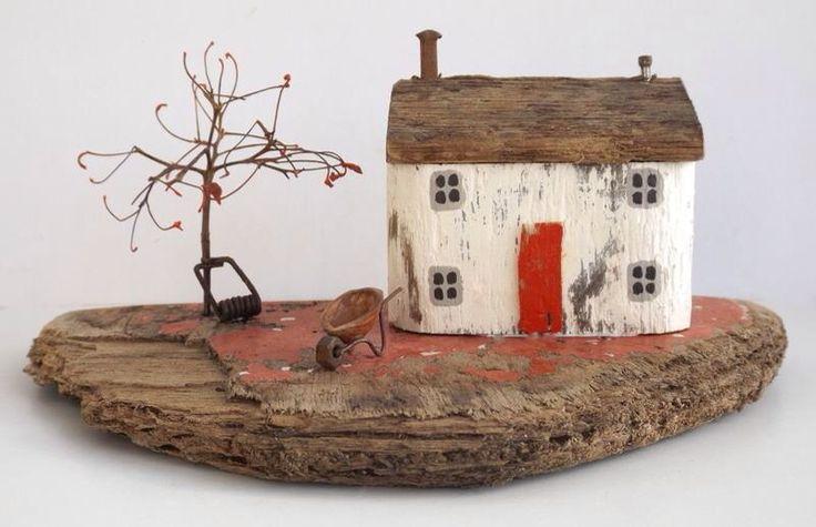 Driftwood art Kirsty Elson