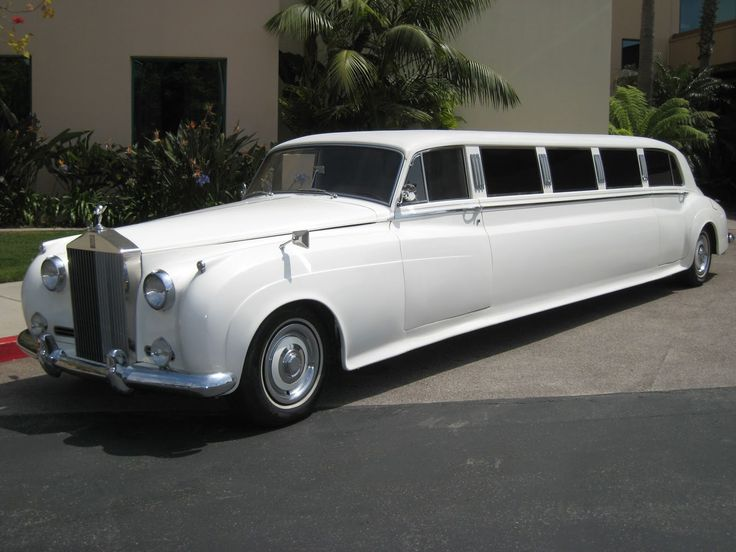 rolls-royce classic limos | awesome limousines | pinterest | limo