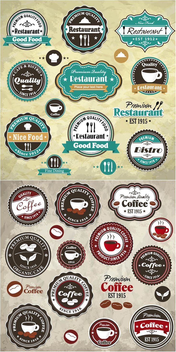 Best vintage/retro labels website - VECTOR GRAPHICS BLOG - FREE templates, videos, textures, stock photos, and more!