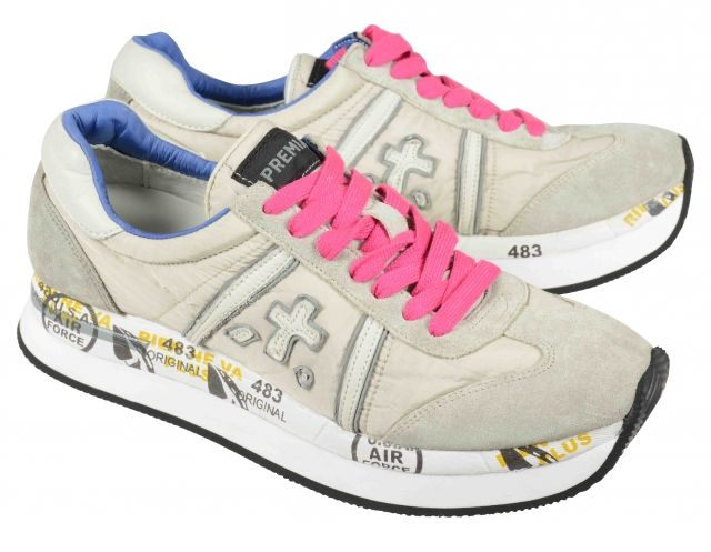 Sneaker by Premiata Conny  Sand Color