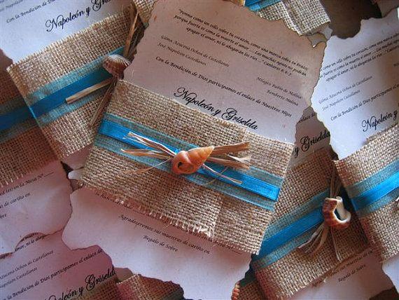Wedding Invite Idea.... With a small horseshoe or heart charm