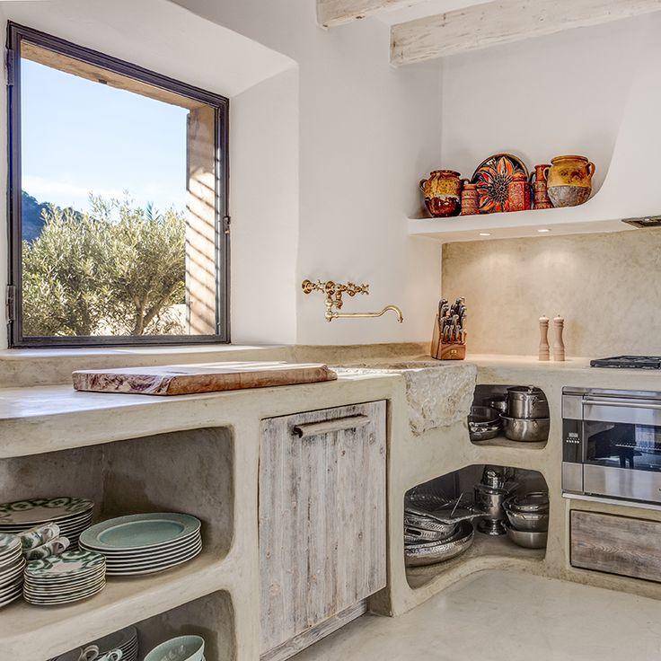 kitchen in Mallorcan house