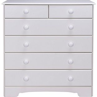 Buy Nordic 4+2 Drawer Chest - White at Argos.co.uk, visit Argos.co.uk to shop online for Chest of drawers