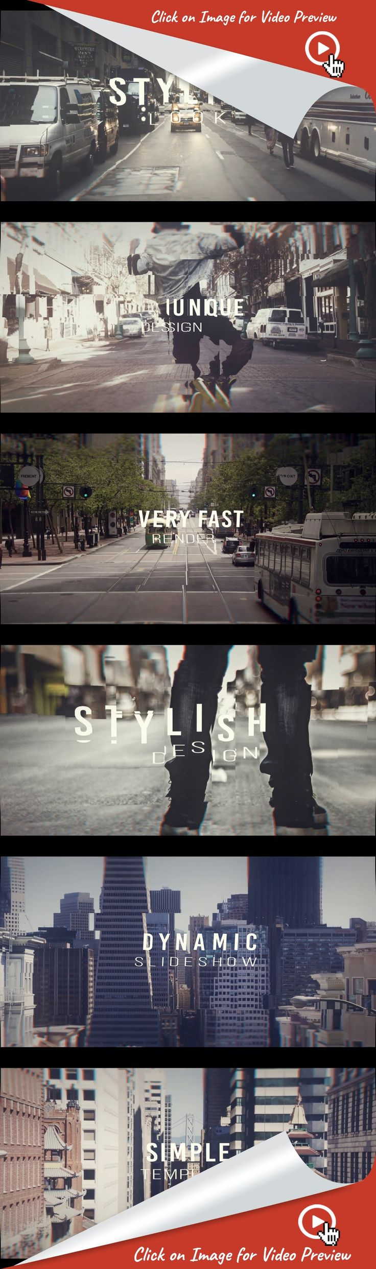 city, dynamic, emotional, energy, fashion, fast, hiphop, intro, journey, lifestyle, modern, opener, popular, promotion, travel, after effects templates, after effects ideas, after effects motion graphics, after effects projects, videohive projects    Dynamic Opener Slideshow is a fast and fresh After Effects template. Synchronized to the music for the most impact, with smooth and energetic text animations and rhythmic transitioning effects. Featuring 19media placeholder, 18editable text...