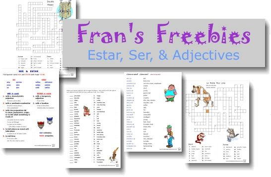 38 best el verbo ser images on pinterest. Black Bedroom Furniture Sets. Home Design Ideas