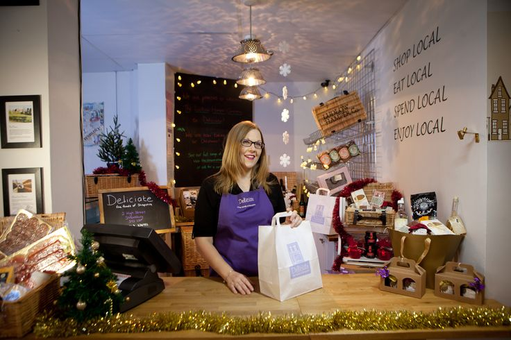 Head to Deliciate on High Street for everything you need for a foodie Christmas. It's all local produce too!