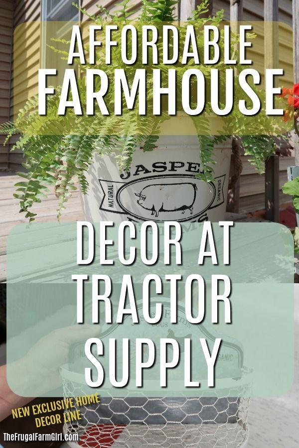 Tractor Supply Farmhouse Decor Roundup Farmhouse Decor Tractor Supplies Farmhouse Decor On A Budget