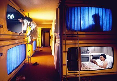 Japan Tiny Hotel Room