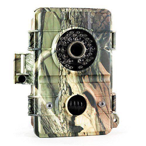DURAMAXX Grizzly 3.0 Caméra de surveillance de gibier pour la chasse ou l'observation de la faune (caméra embarquée HD 720p 8MP, slot SD,…