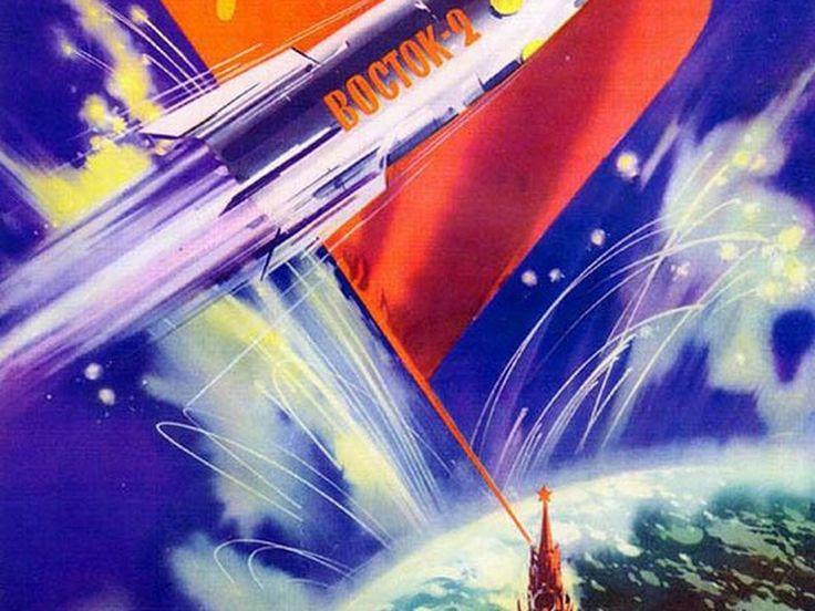 33 afiches comunistas sobre la llegada al espacio - Taringa!