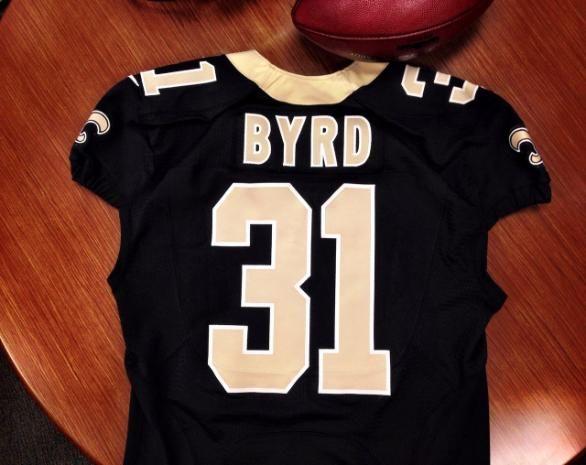Jerseys NFL Sale - Jairus Byrd's Jersey #31. #Saints | New Orleans Saints Players ...