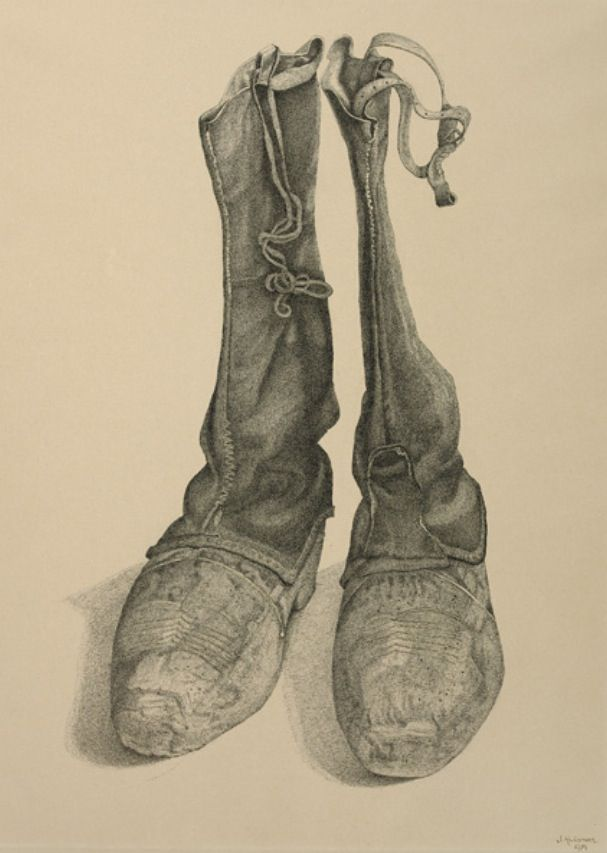 Klomp laarzen van: Jopie Huisman