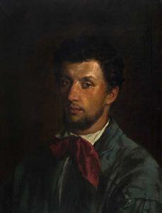 Portret młodzieńca (Un republicano) Andrzej Grabowski, 1867