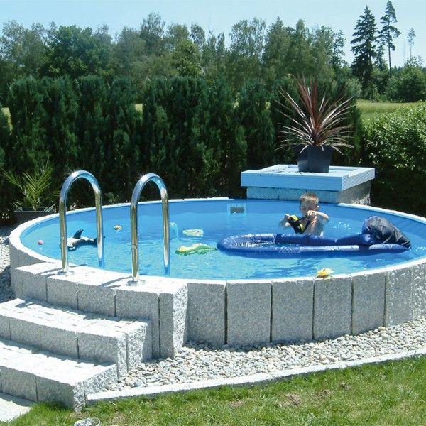 71 best gartenpools von poolsana images on pinterest for Pool rundbecken